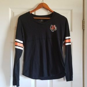 Bengals Long Sleeves Tshirt
